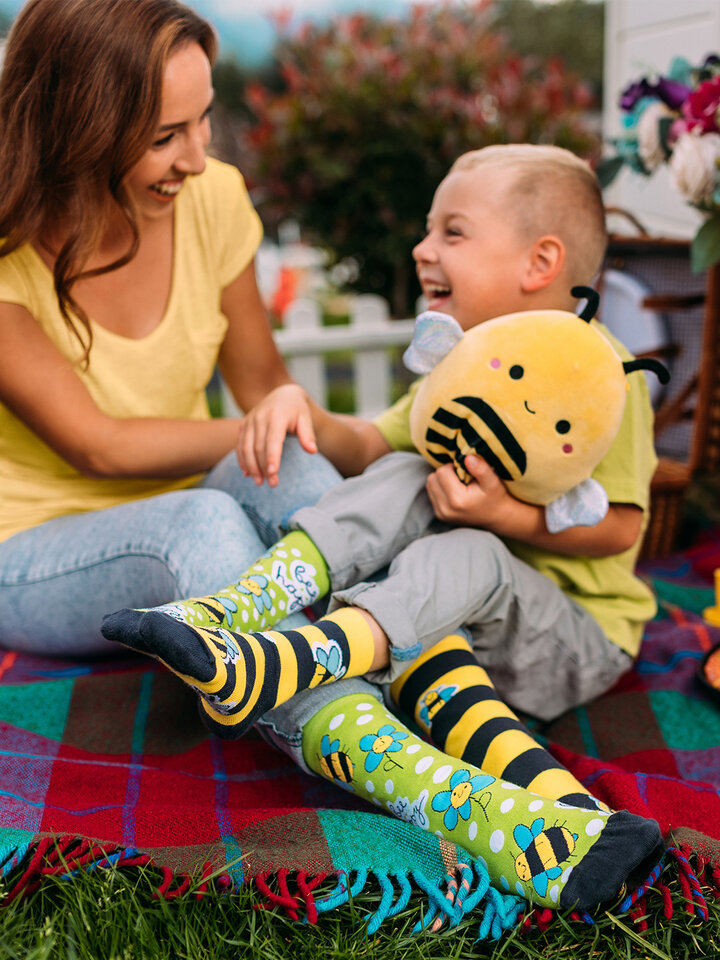 Pre dokonalý a originálny outfit Regular Socks Bee Happy