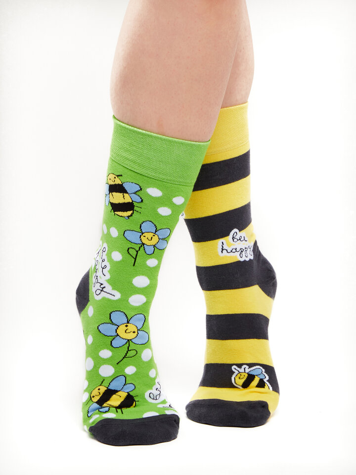 Lifestyle photo Regular Socks Bee Happy
