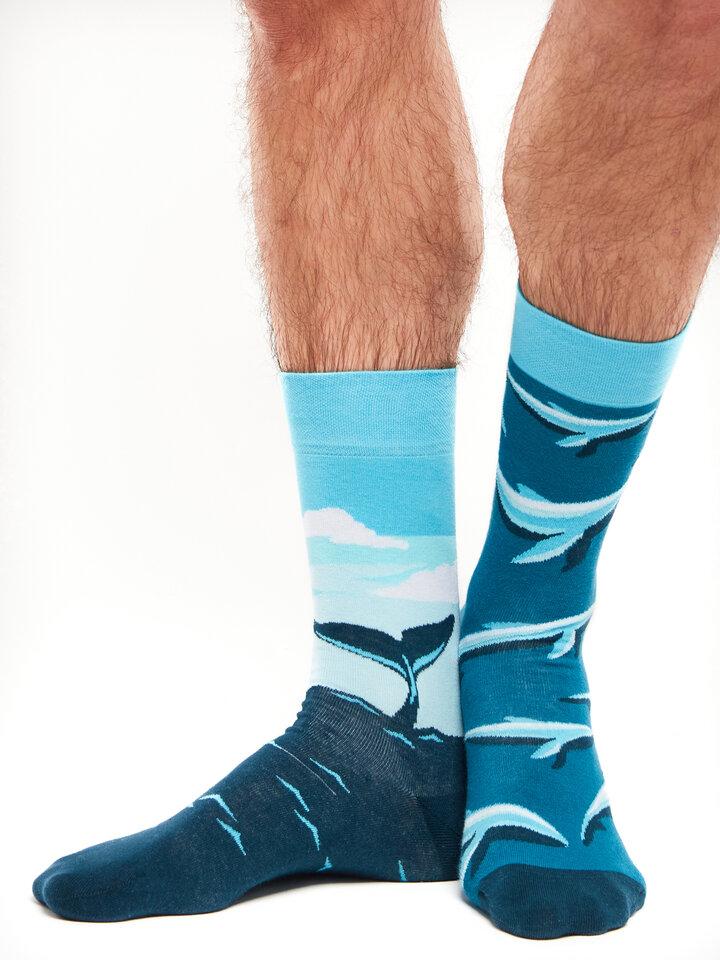 Ausverkauf Lustige Socken Wal