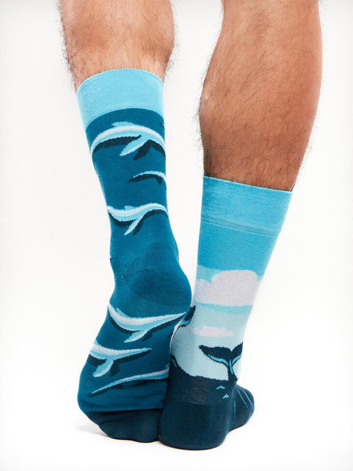 Rabatt Lustige Socken Wal