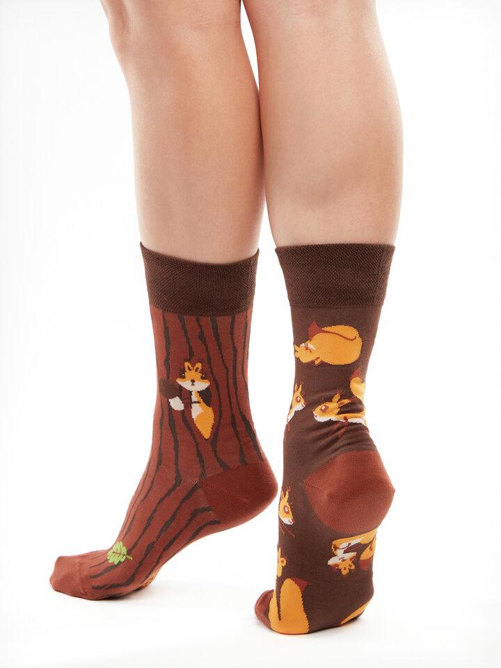 Potešte sa týmto kúskom Dedoles Vrolijke sokken Eekhoorns