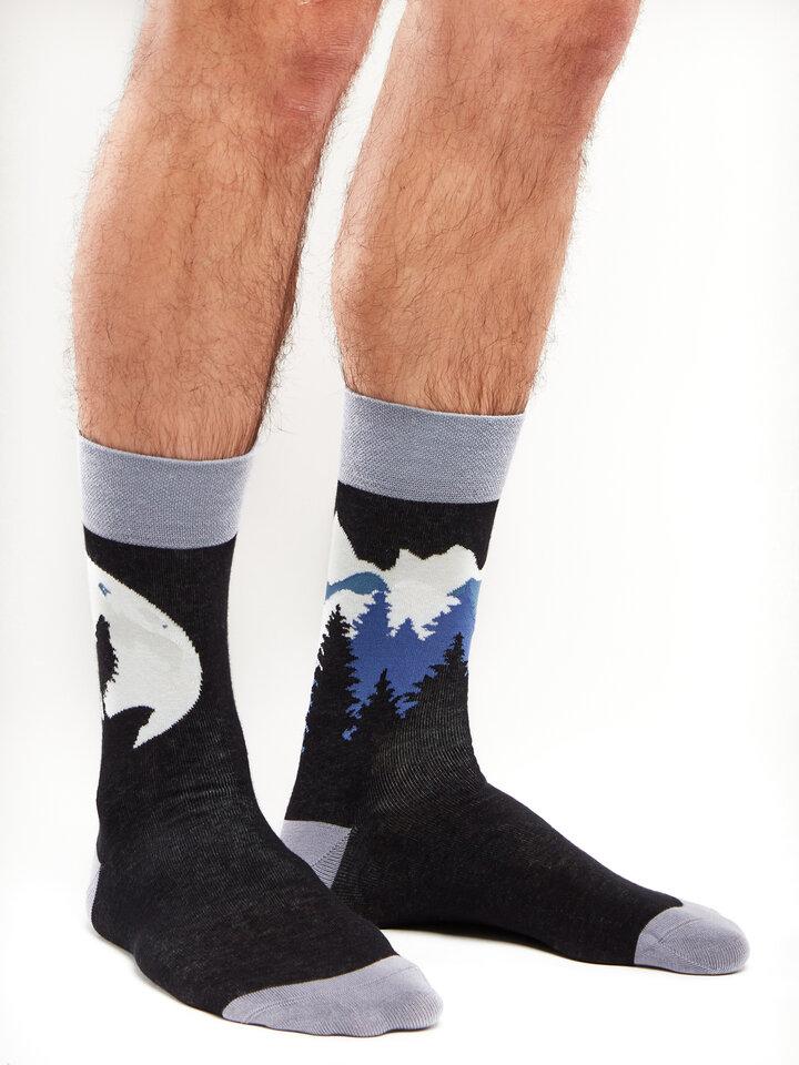 Potešte sa týmto kúskom Dedoles Regular Socks Wolf