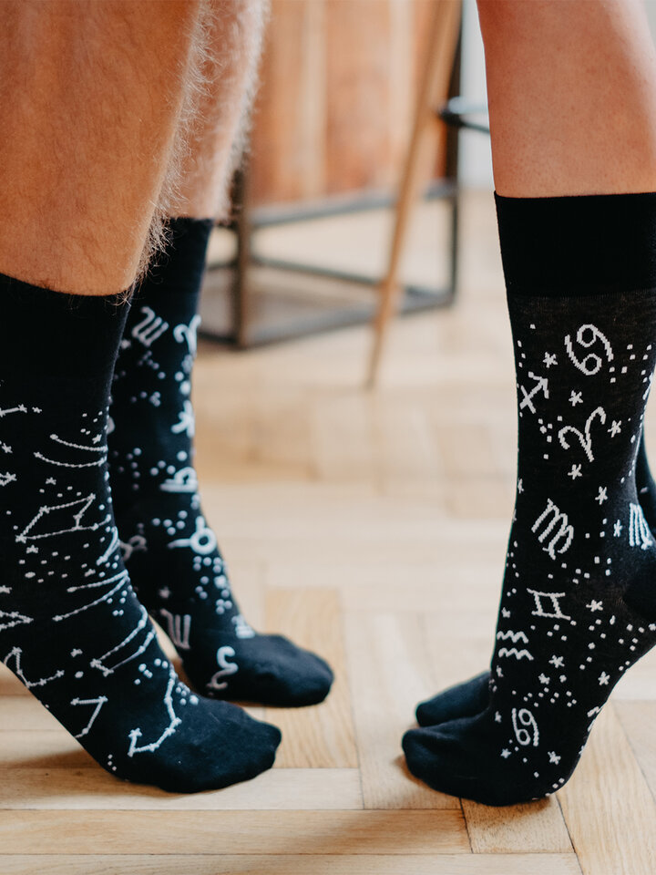 Gift idea Regular Socks Zodiac Signs