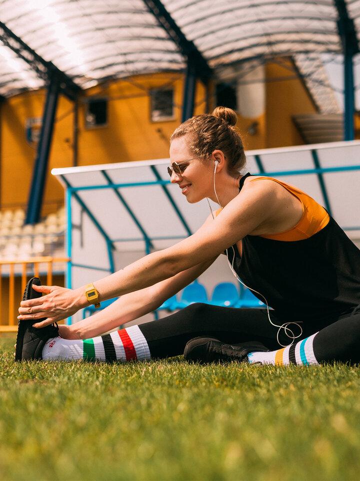 Tip na darček Calcetines deportivos alegres Juegos olímpicos