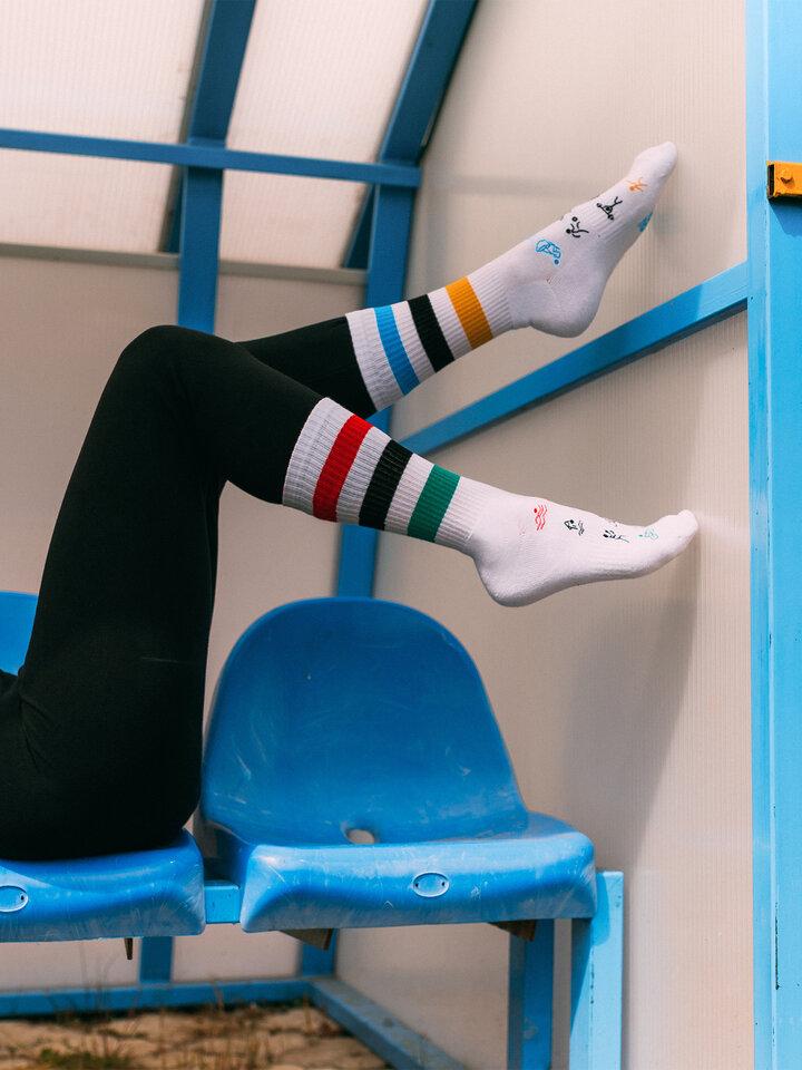 Obrázok produktu Živahne športne nogavice Olimpijada