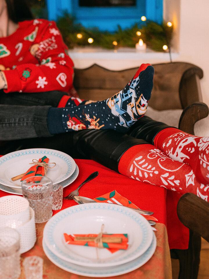 Tip na darček Caja regalo Santa y Rudolf