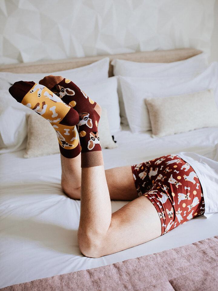 für ein vollkommenes und originelles Outfit Lustige Socken Französische Bulldogge