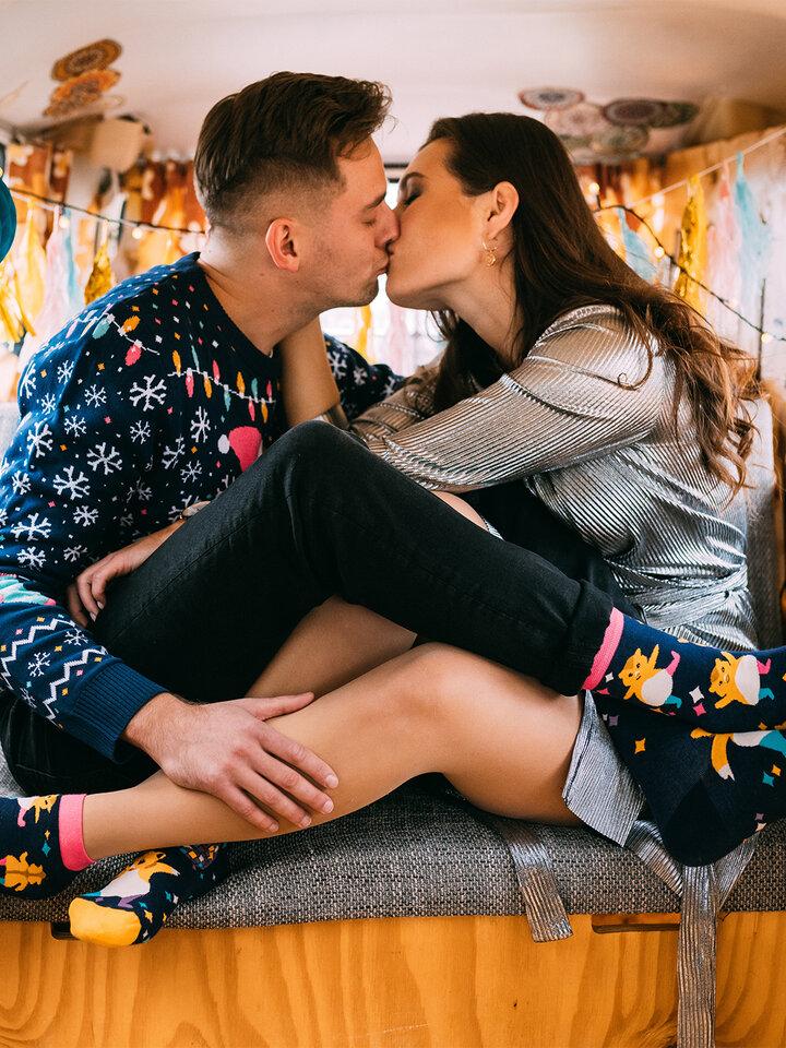 pro dokonalý a originální outfit Veselé ponožky Párty křečci