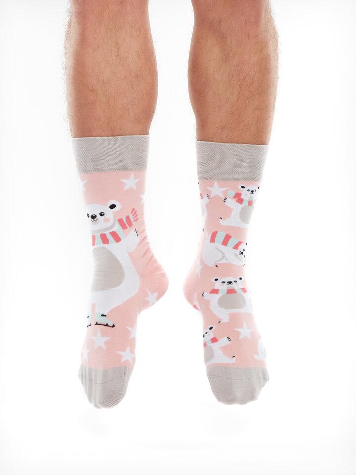 Potešte sa týmto kúskom Dedoles Živahne nogavice Polarni medved na drsalkah