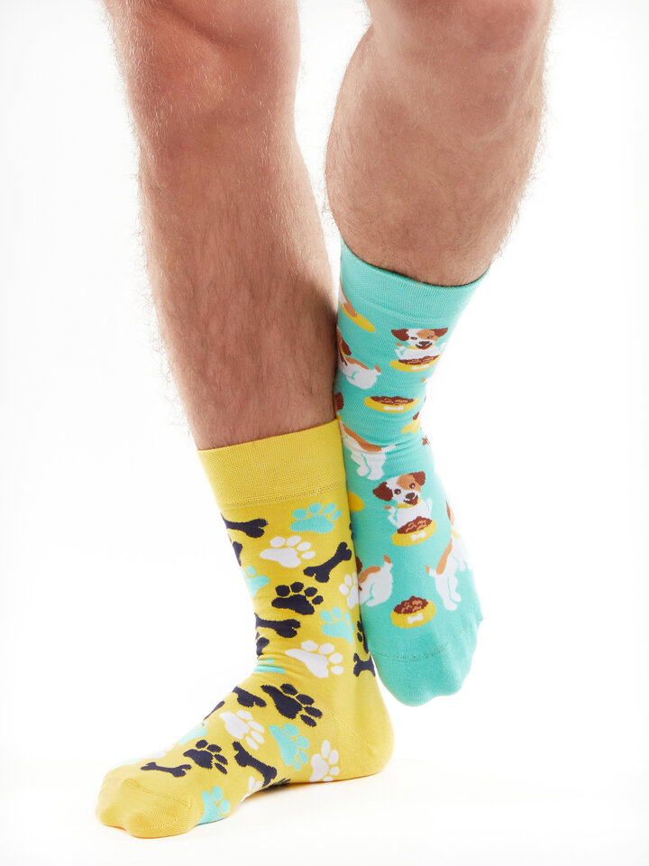 Tip na darček Весели чорапи Щастливо куче