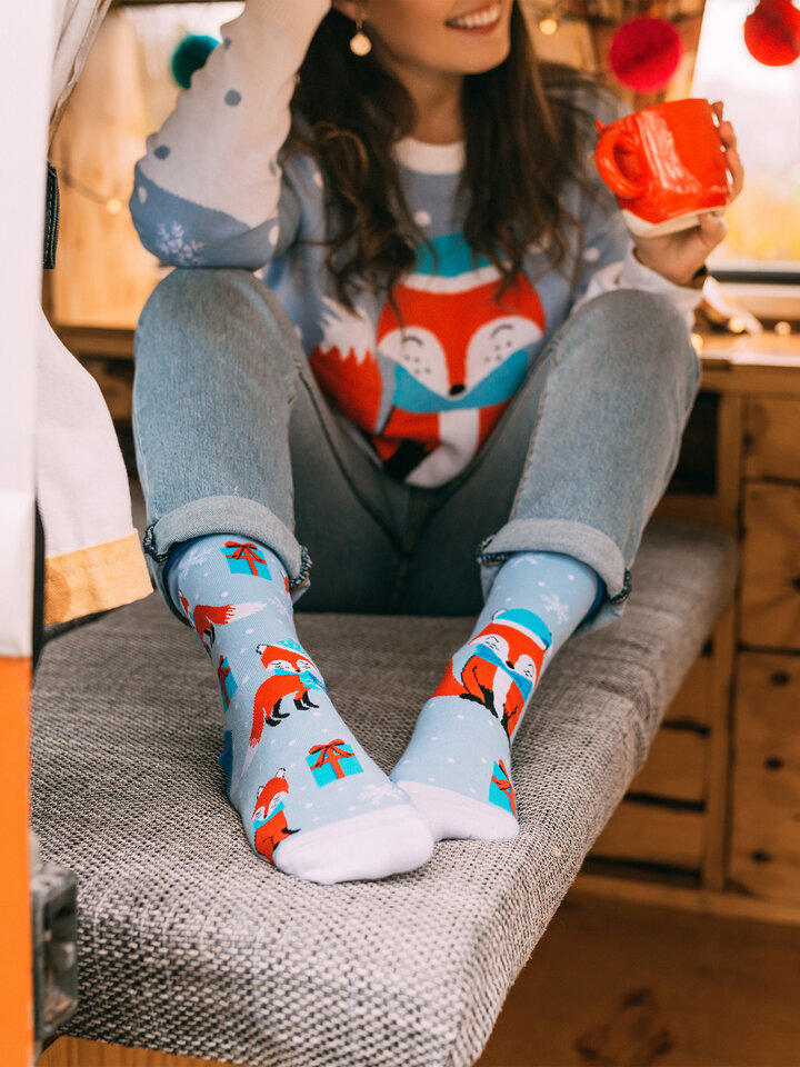 Obrázok produktu Vrolijke sokken Wintervos