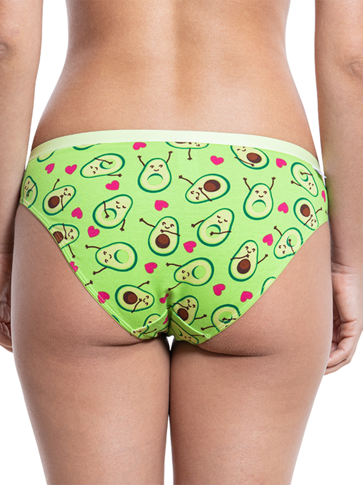 Sale Women's Briefs Avocado Love