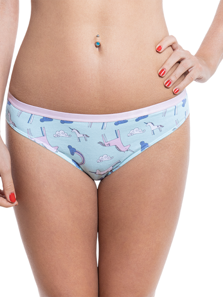 Looking for an original and unusual gift? The gifted person will surely surprise with Women's Briefs Unicorn