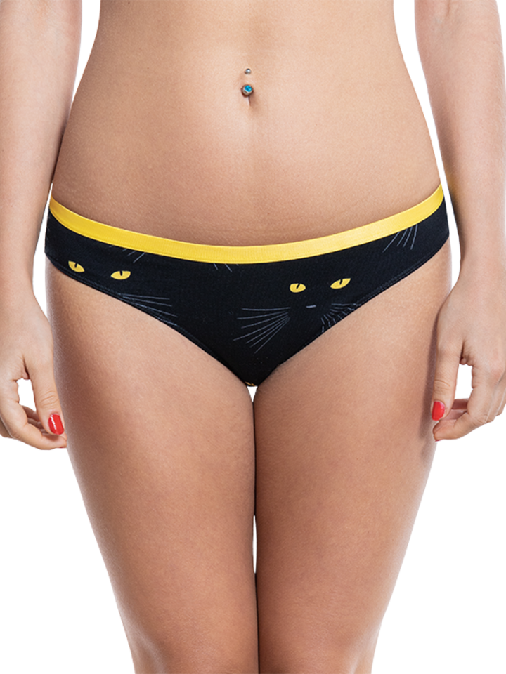Looking for an original and unusual gift? The gifted person will surely surprise with Women's Briefs Cat Eyes