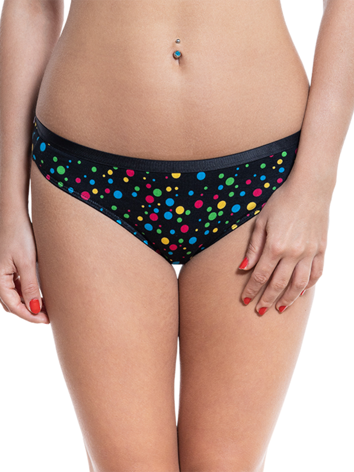 Sale Women's Briefs Neon Dots
