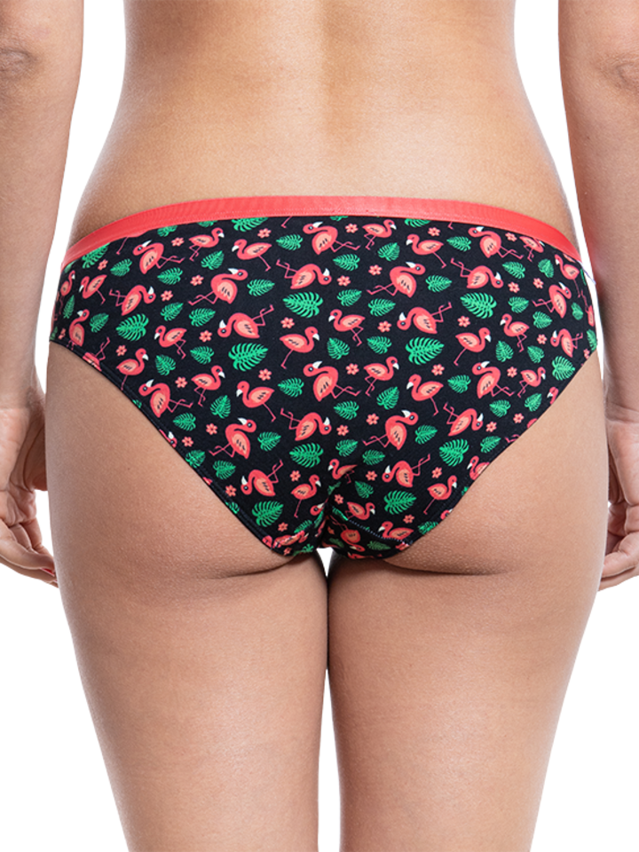 Lifestyle photo Women's Briefs Flamingos