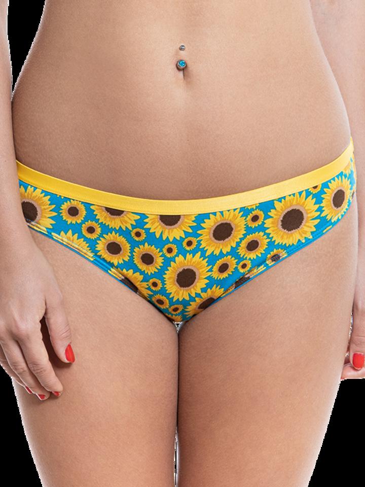 Pre dokonalý a originálny outfit Women's Briefs Sunflower