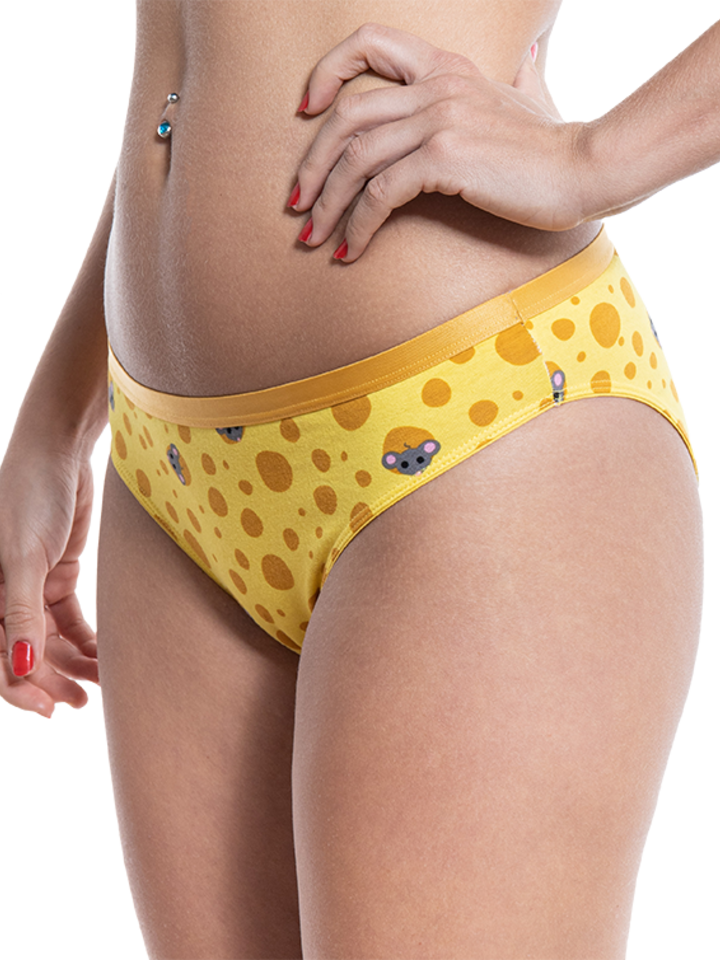 Looking for an original and unusual gift? The gifted person will surely surprise with Women's Briefs Cheese