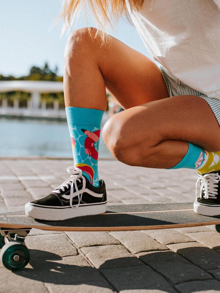 Výpredaj Vrolijke sokken Zwembadfeest