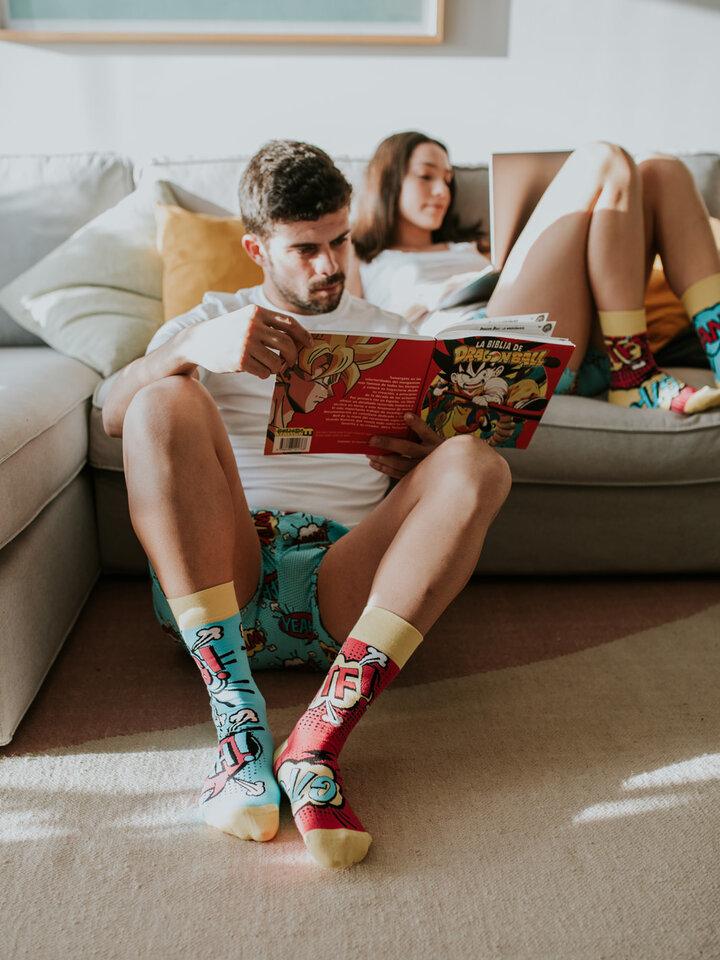 Lifestyle photo Regular Socks Comics