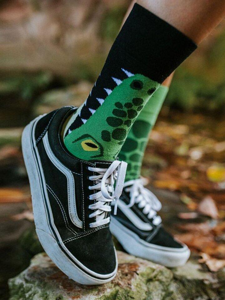 Pre dokonalý a originálny outfit Vrolijke sokken Krokodil