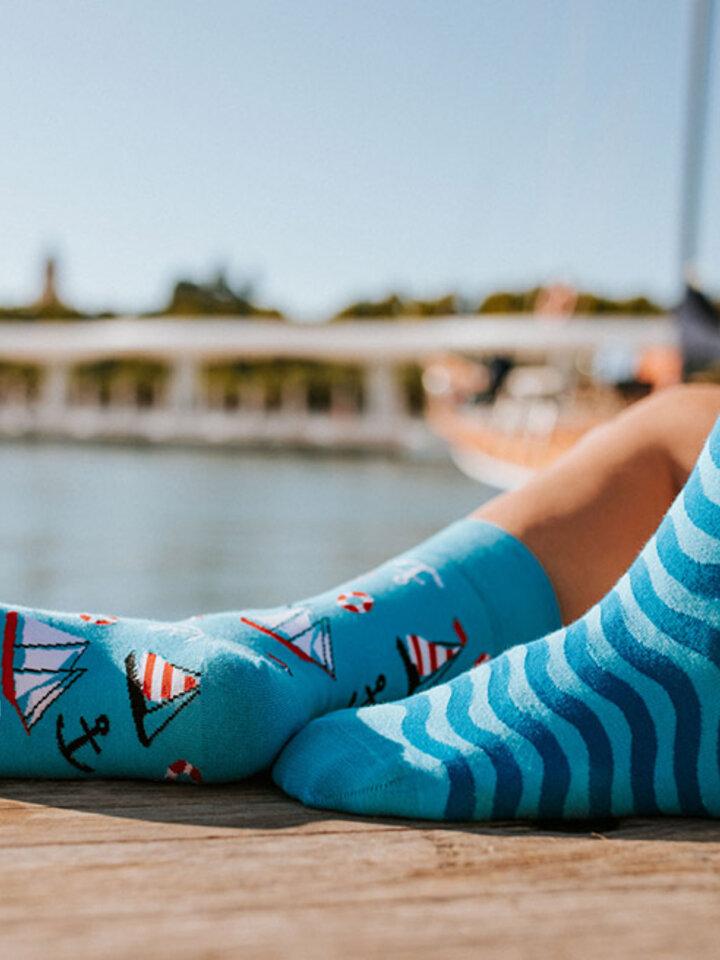 Sleva Veselé ponožky Plachtění