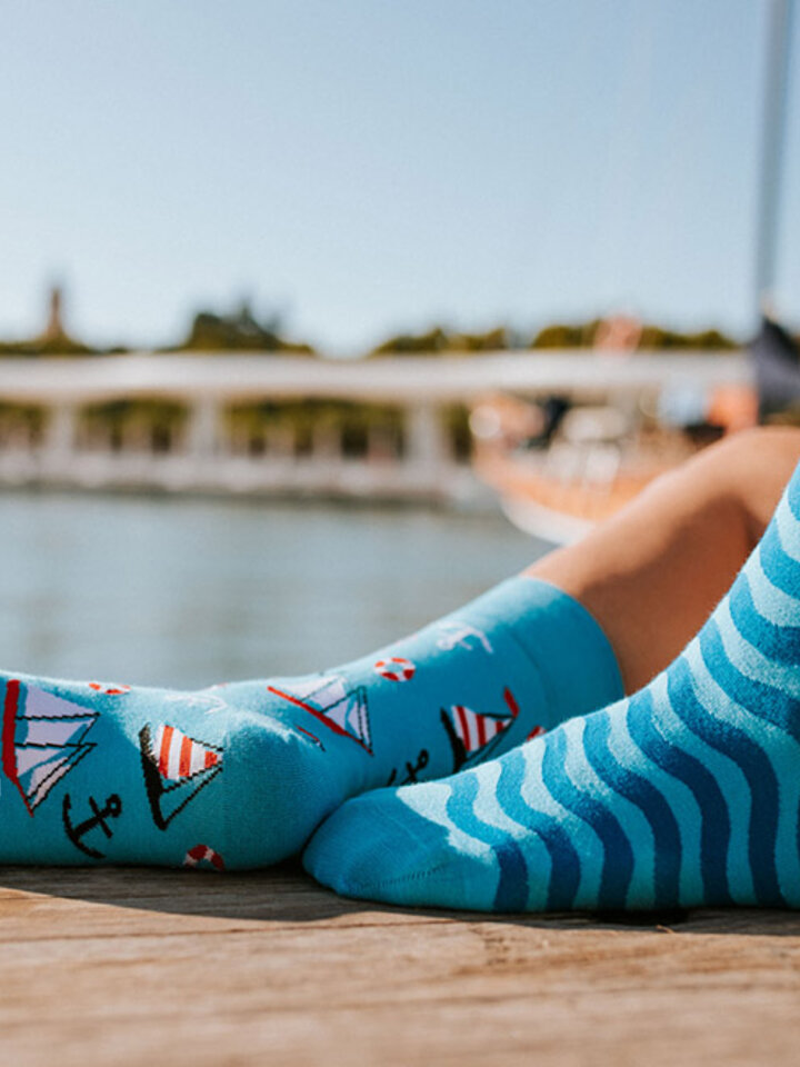 Sale Regular Socks Sailing