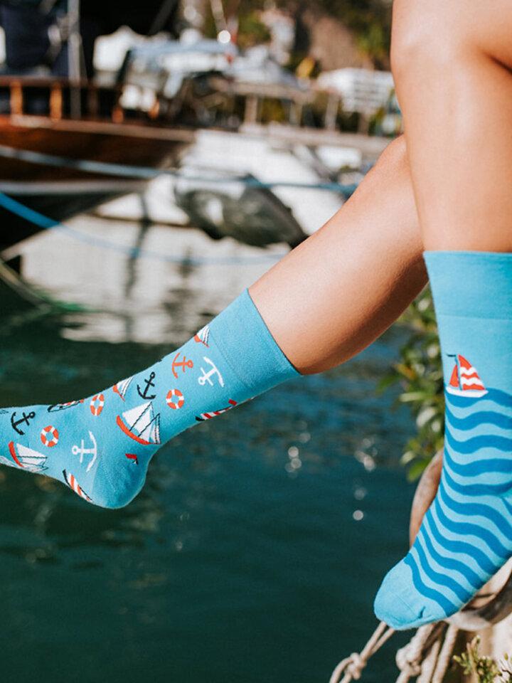 pro dokonalý a originální outfit Veselé ponožky Plachtění