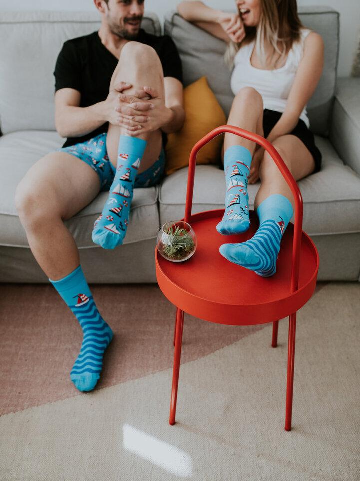 Potěšte se tímto kouskem Dedoles Veselé ponožky Plachtění