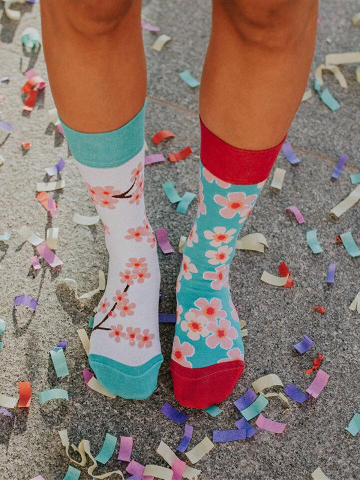 Tip na darček Veselé ponožky Sakura