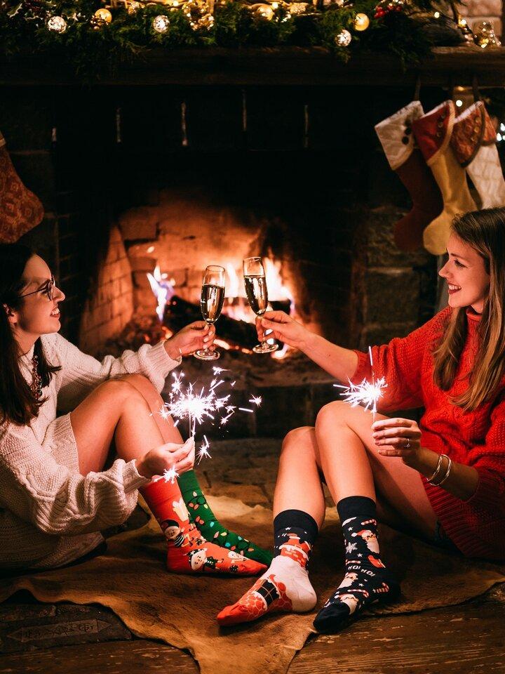 Original gift Regular Socks Santa Claus