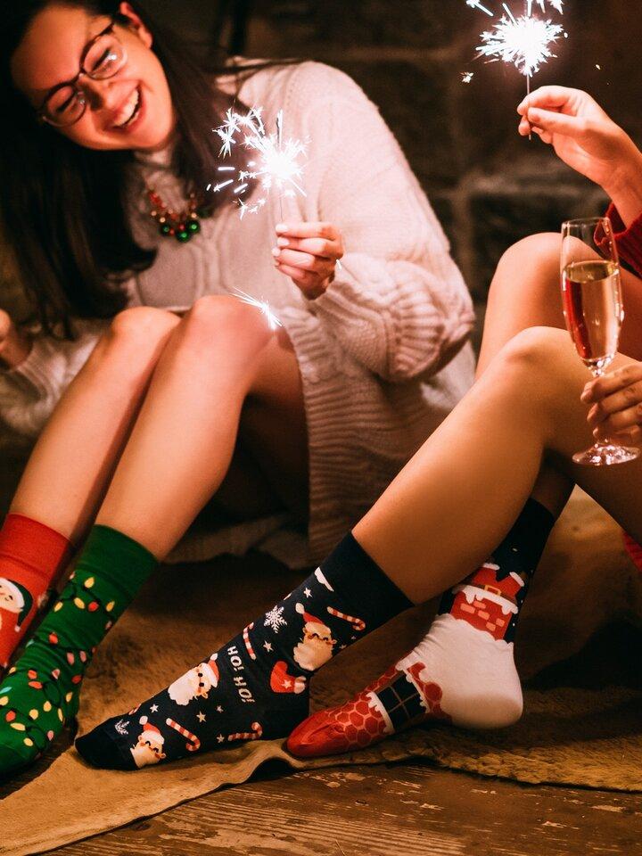 Lifestyle photo Regular Socks Santa Claus