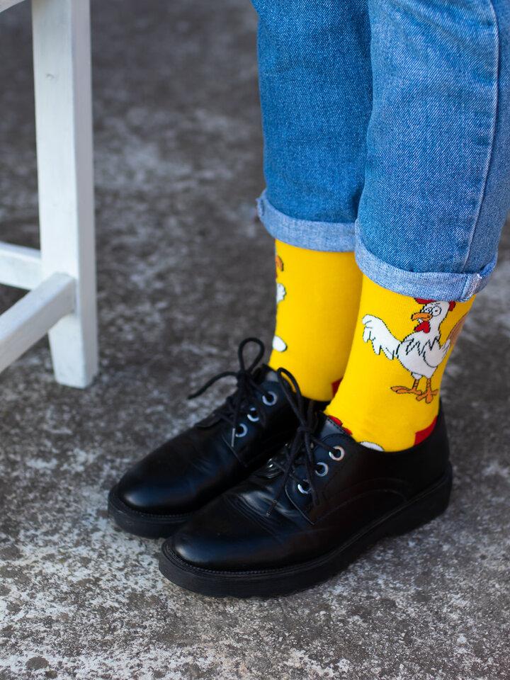 Obrázok produktu Vrolijke sokken Kip of ei