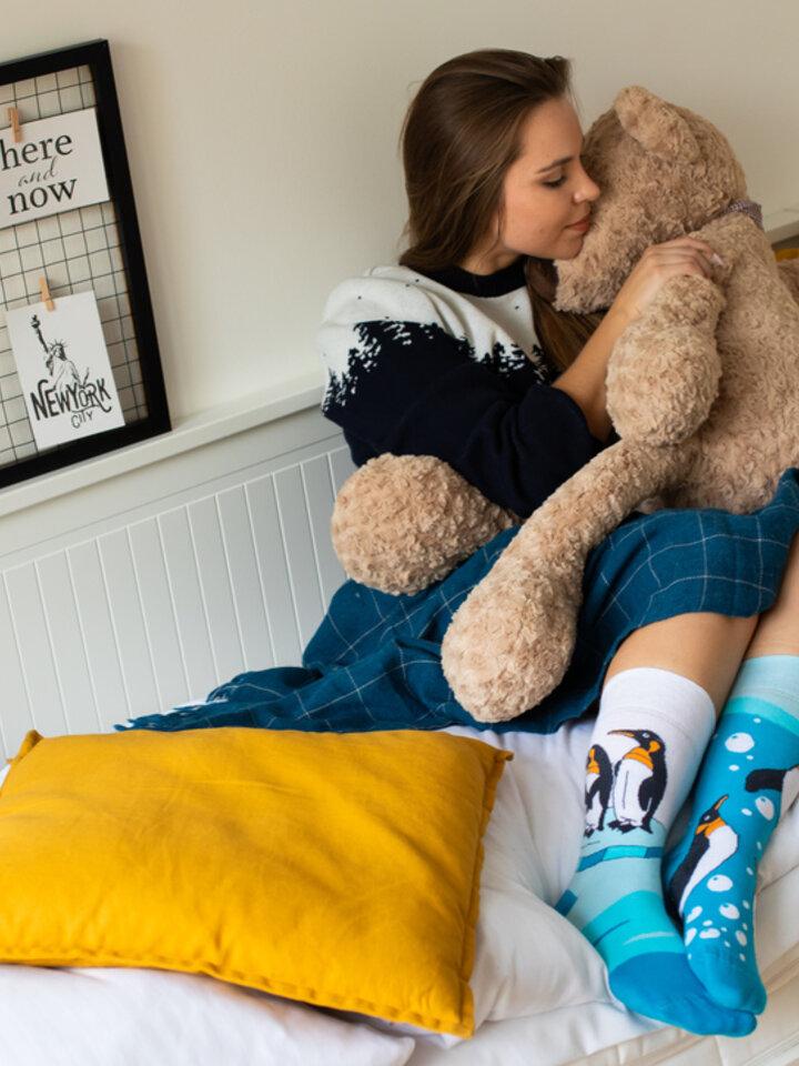 Obrázok produktu Vesele čarape Pingvini