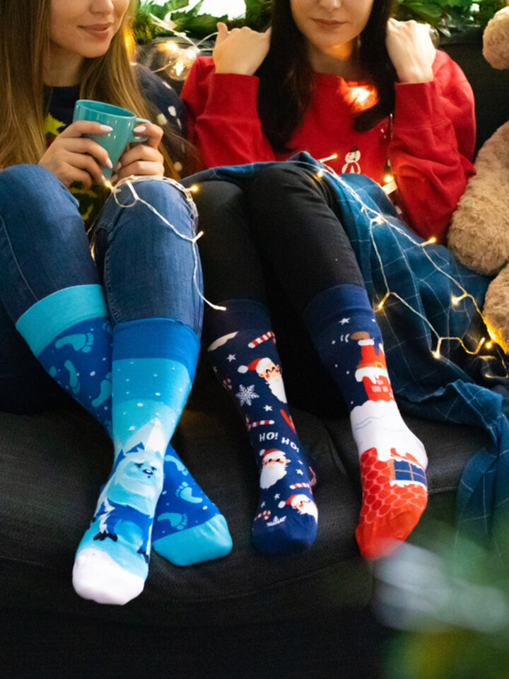 Tip na darček Vesele nogavice Yeti