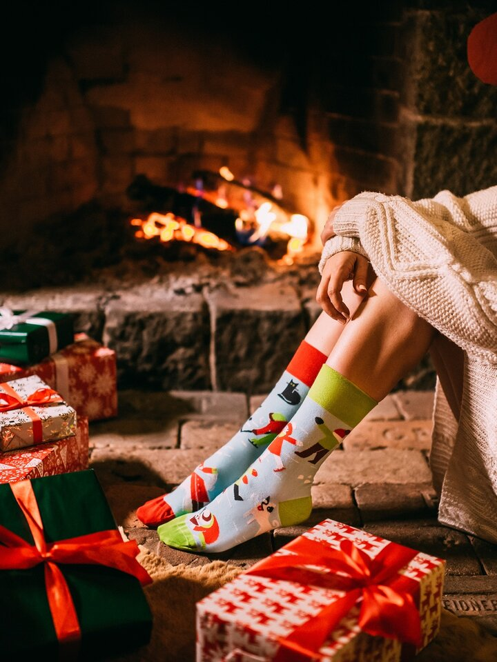Sale Regular Socks Winter