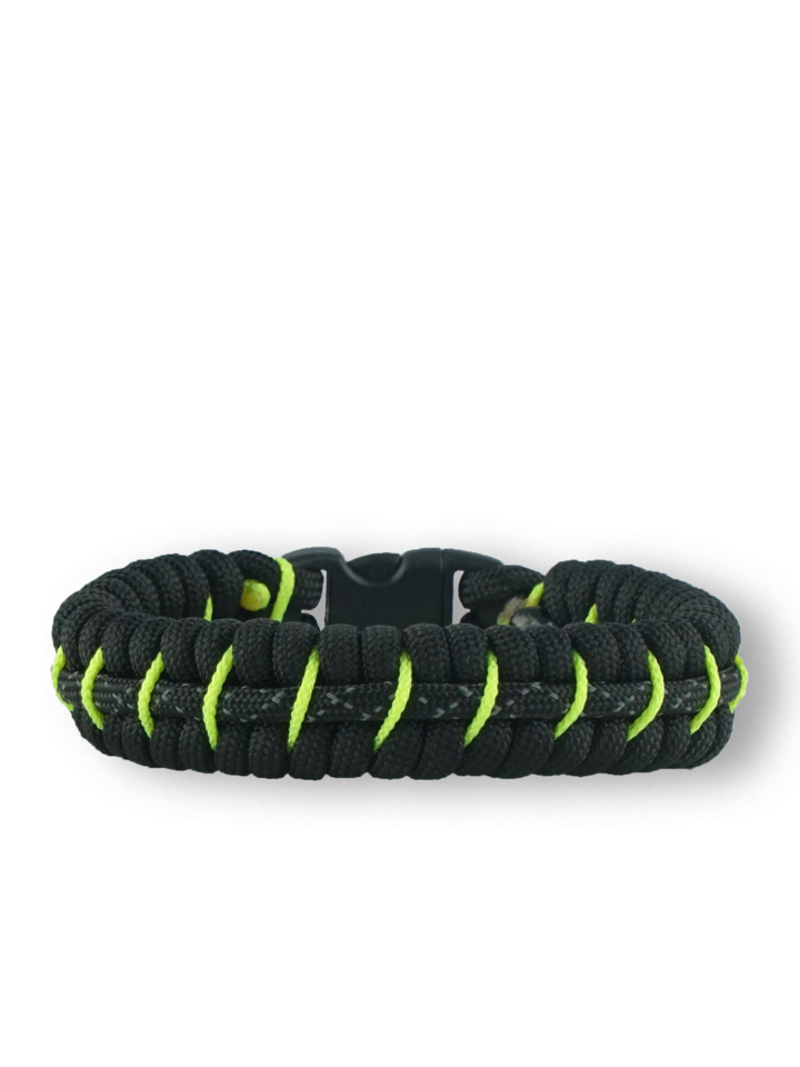 Foto Reflex Paracord Armband Fisch Night Star