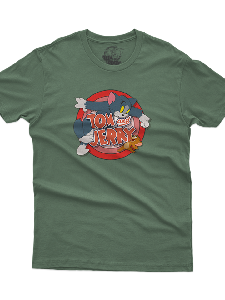 Looking for an original and unusual gift? The gifted person will surely surprise with T-Shirt Tom & Jerry™ Gotcha!