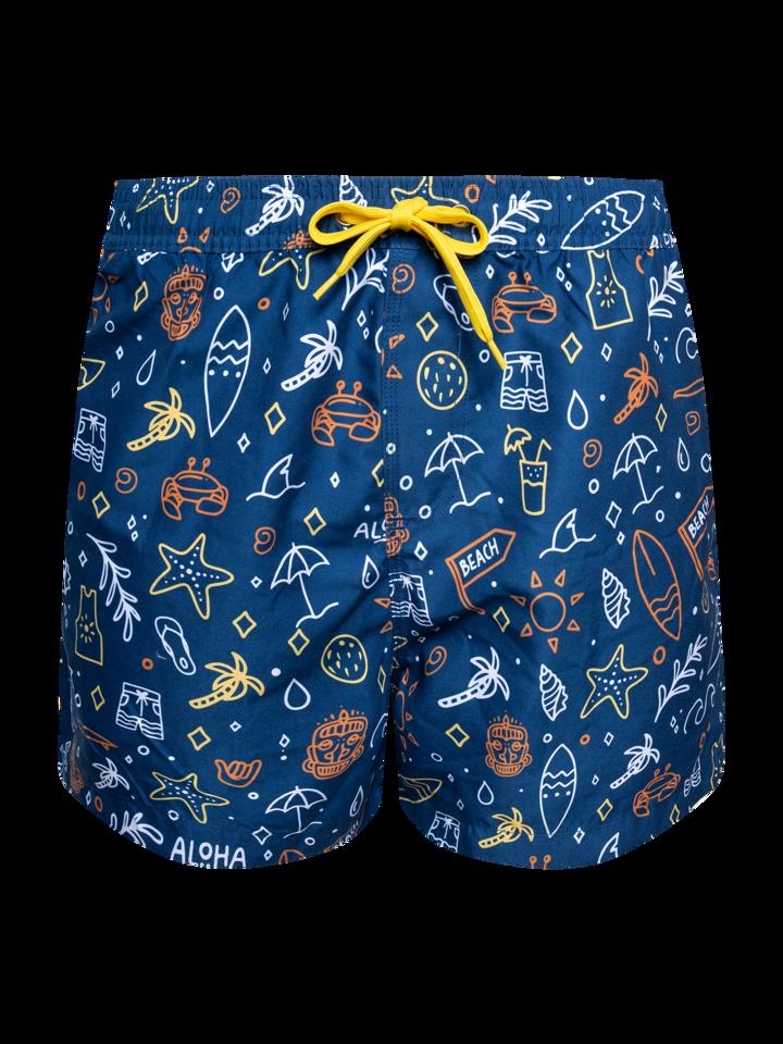 Výnimočný darček od Dedoles Vesele muške kupaće hlače Surfanje
