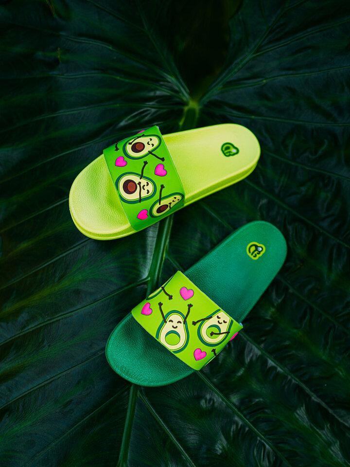Pre dokonalý a originálny outfit Slides Avocado Love