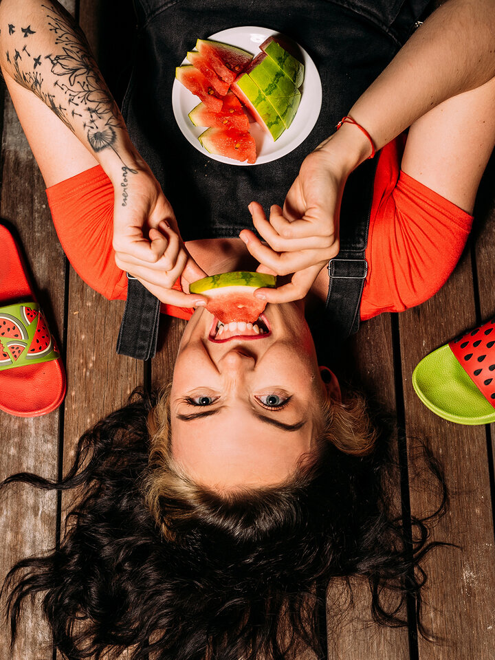 Obrázok produktu Vrolijke sliders Watermeloen