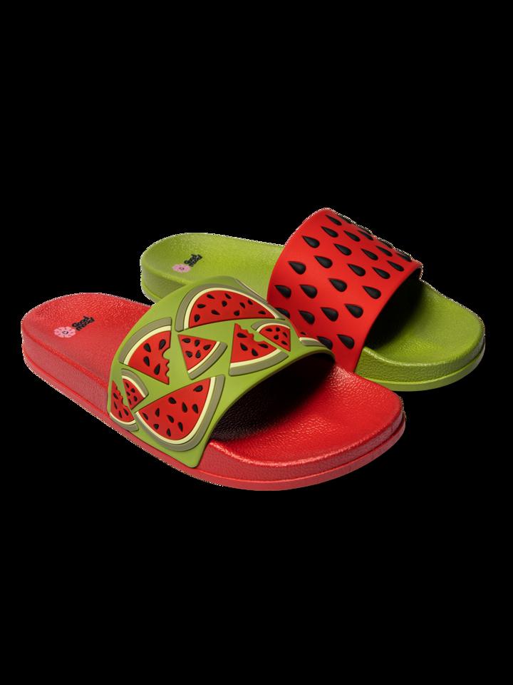 Pre dokonalý a originálny outfit Slides Watermelon