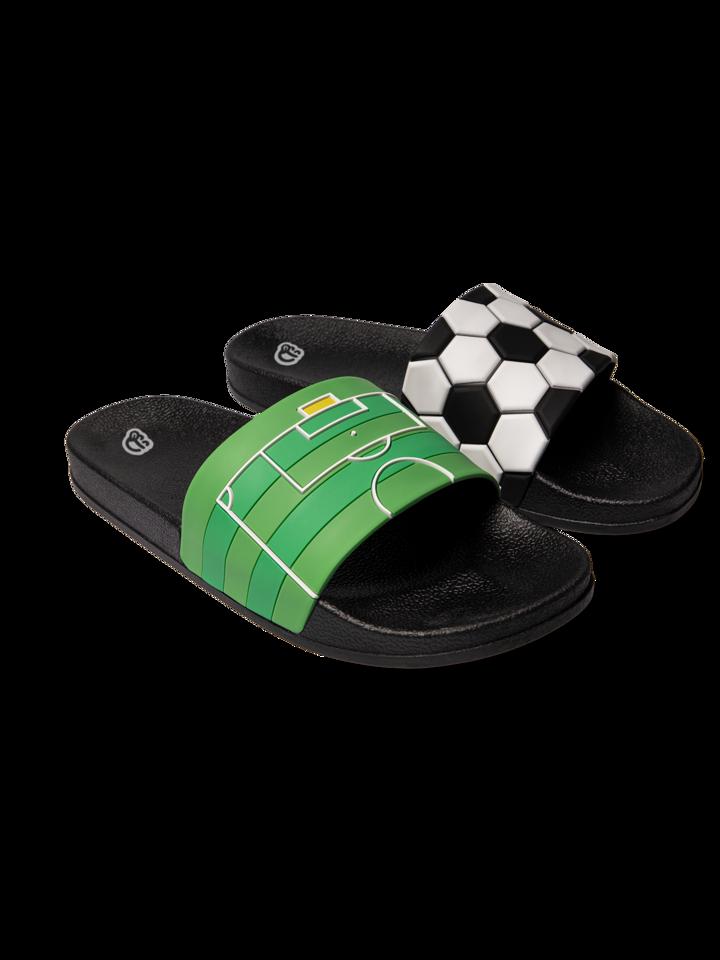 Pre dokonalý a originálny outfit Sandales rigolotes Football