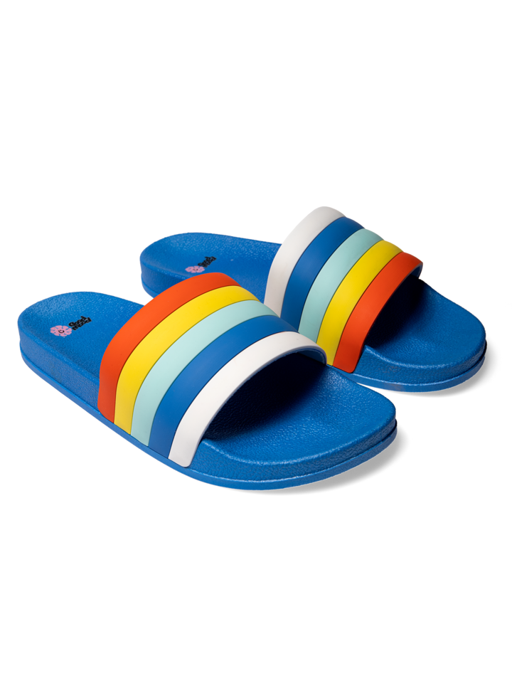 Looking for an original and unusual gift? The gifted person will surely surprise with Slides Stripes