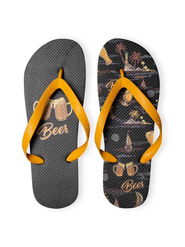Sale Flip Flops Beach Beer