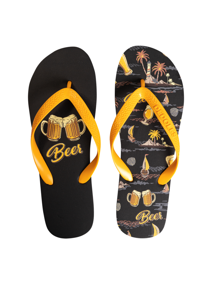 Original gift Flip Flops Beach Beer