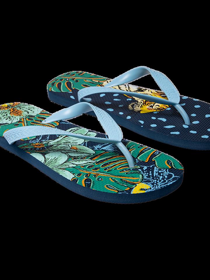 Výnimočný darček od Dedoles Vrolijke Flip Flops - Tropische jungle