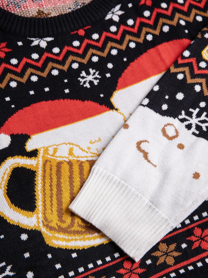 Výnimočný darček od Dedoles Vrolijke kersttrui Draft bier