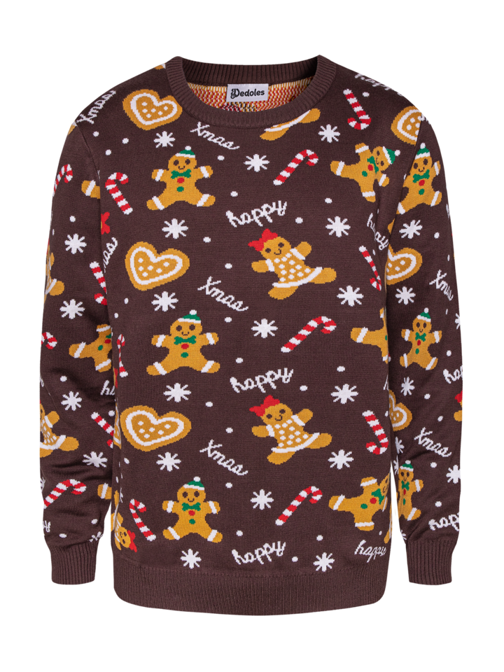 Gift idea Christmas Sweater Gingerbread
