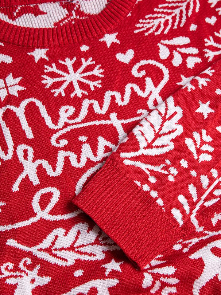 Pomysły na prezenty Wesoły sweter świąteczny Wesołych świąt
